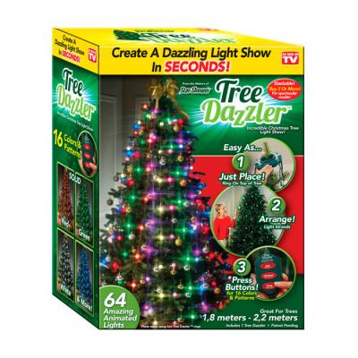 Гирлянда на елку Tree Dazzler Ring