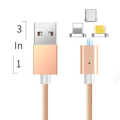 Магнитный кабель 3 в 1