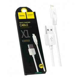 USB кабель lightning hoco X1 (2 метра)