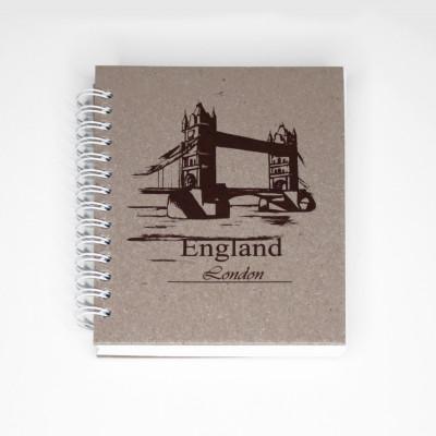 Скетчбук London England 50 листов 10x14 см