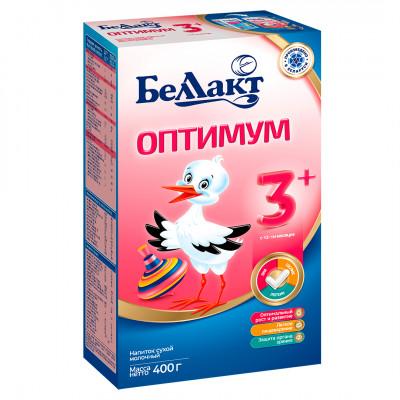 Смесь сухая молочная «Беллакт» Оптимум 3+ с 12-ти месяцев до 3 лет (400 г)
